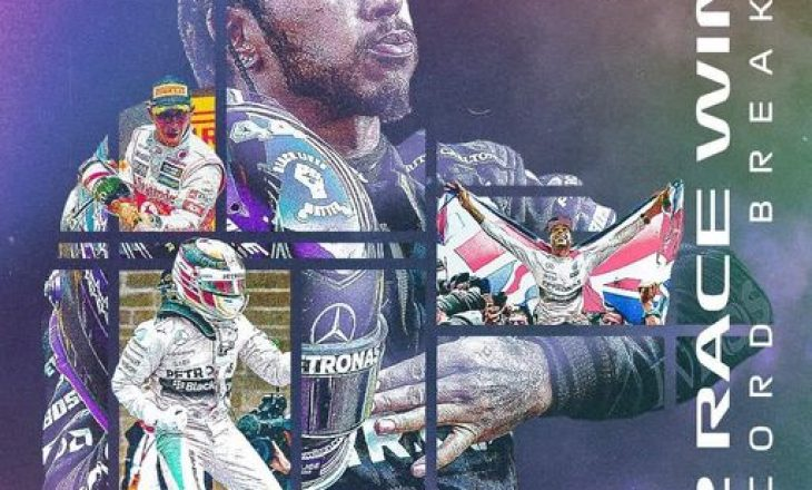 Hamilton fiton në Portugali, thyen rekordin e Schumacher