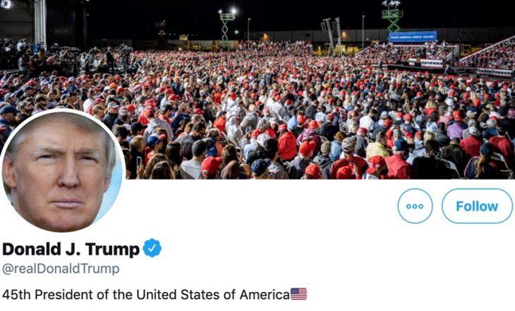 Presidentit Trump i hakohet Twitter-i