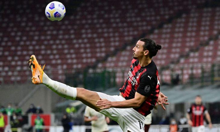 Milan dhe Roma ndajnë pikët në ndeshjen e gjashtë golave