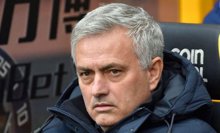 Jose Murinho i frustruar me humbjen nga Antwerp