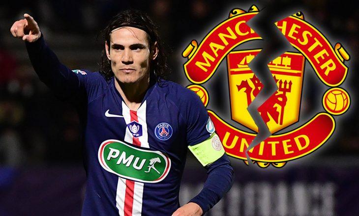 Cavani është lojtar i Manchester United