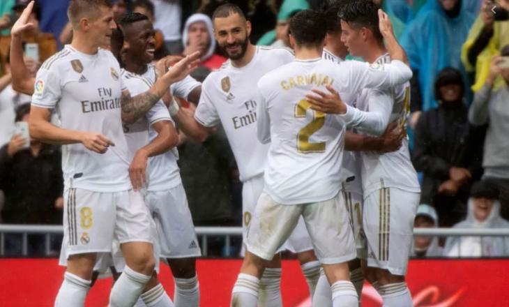 Real Madridi fiton kundër Levantes