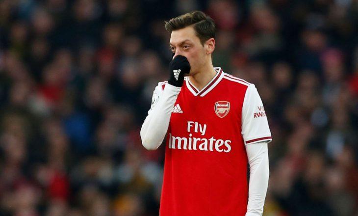 Ozili nuk do të përfshihet në planet e Arsenalit