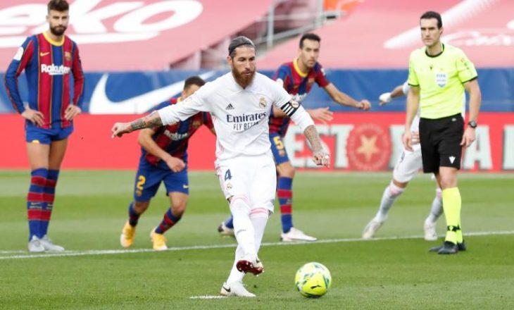 """Madrilenët e Realit dominojnë në """"El Clasico"""", fitojnë 3:1"""