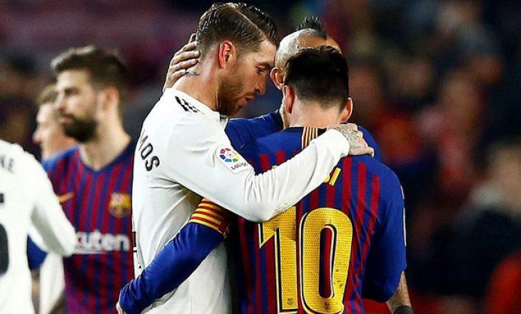 Barcelona vs Real Madrid, formacionet zyrtare