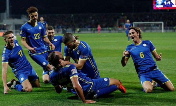 Forma e Kosovës në ndeshjet si mysafir