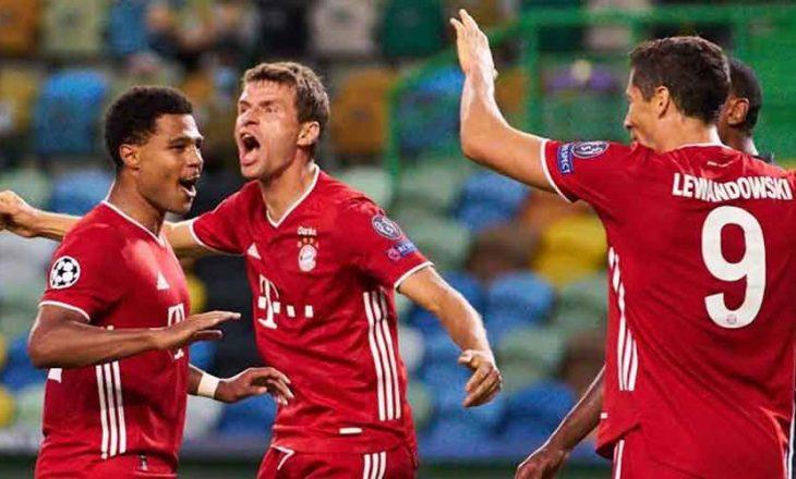 Inter përsëri nuk fiton, Bayern shënon fitoren e 13-të radhazi në Ligën e Kampionëve