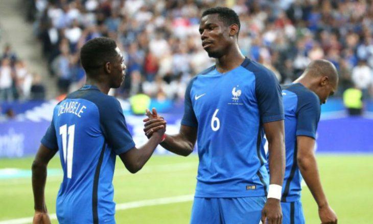 """""""Agjenti Pogba"""" – po e bind Dembelen të bashkohet me United"""
