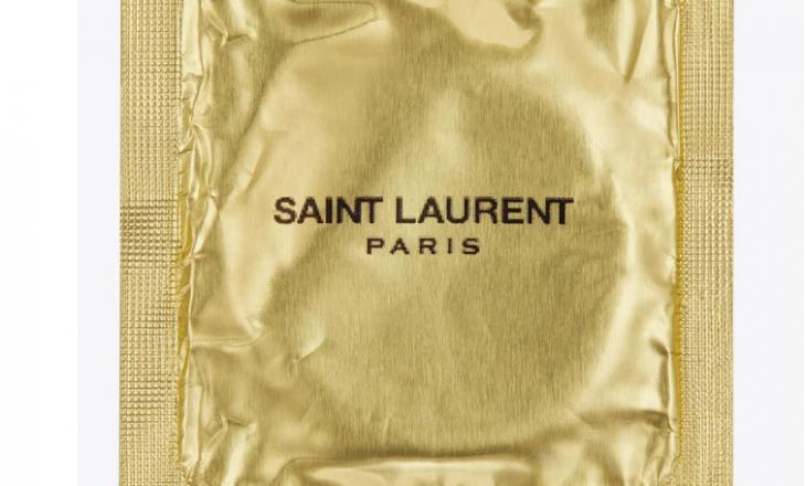 Saint Laurent ka lansuar një edicion kondomësh me markën e tyre