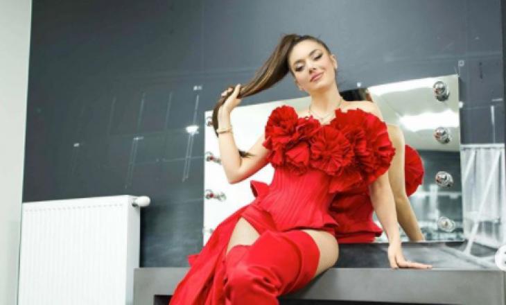 Elvana Gjata bëhet e gjallë në Instagram për një dedikim