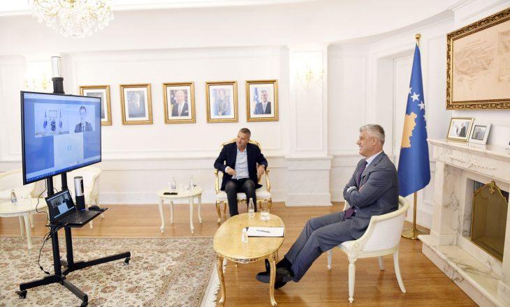 Lajçak: Përvoja e Thaçit ndihmesë për progres në dialog – Presidenti thotë se duhet të ketë njohje reciproke