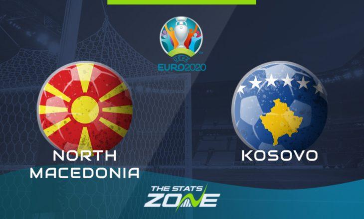 Maqedonia e Veriut vs Kosova- Formacionet zyrtare