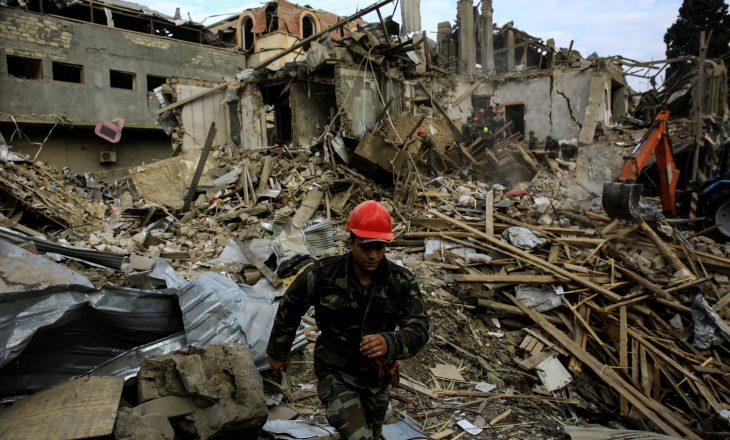 Edhe një civil i vdekur në Ganja, në konfliktin mes Armenisë dhe Azerbajxhanit