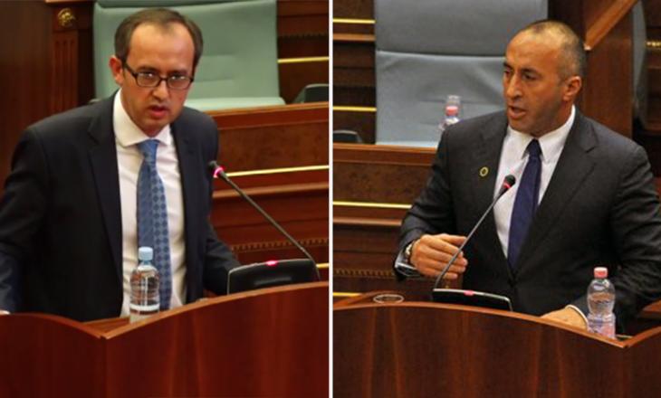Haradinaj – Hoti për Task Forcën: Partia jote mund të tolerojë, por jo aleatët që janë vendimmarrës për vizat
