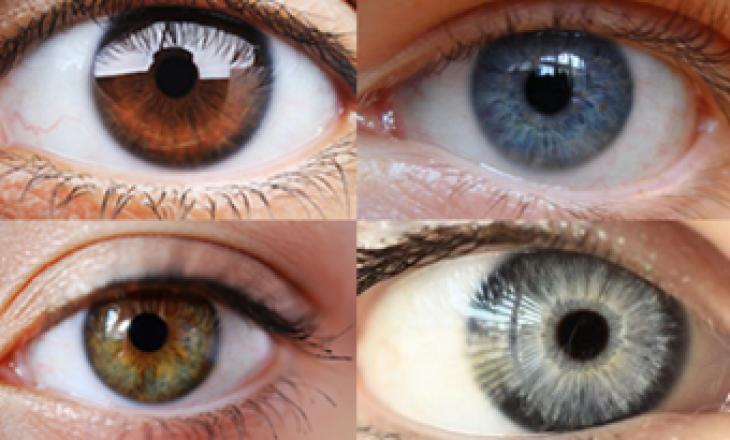 Çfarë tregon për ju ngjyra juaj e syve?