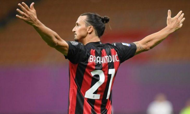 Ibrahimoviç grumbullohet me Milanin për sfidën ndaj Torinos