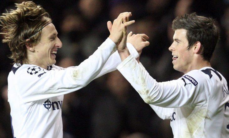 Luka Modriç mbron Gareth Bale