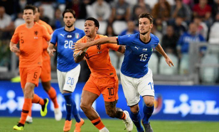 Italia ndanë pikët me Holandën