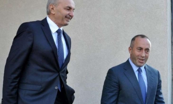 Isa Mustafa në takim me Ramush Haradinaj në Kuvend