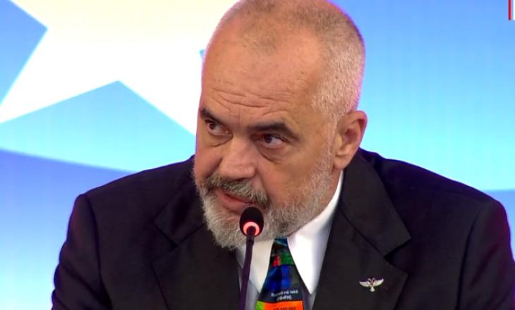 Rama: Do të hiqet kufiri dhe porti i Durrësit do të shndrrohet defakto i Kosovës