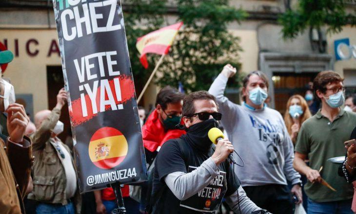 Në Spanjë protestohet kundër masave të qeverisë anti-Covid