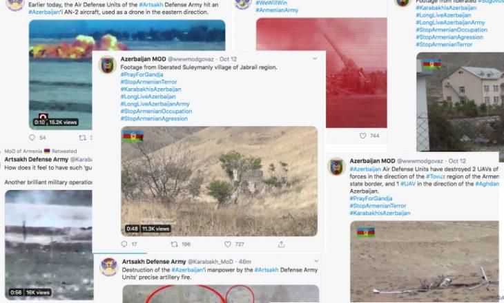 Konflikti mes Armenisë dhe Azerbajxhanit për Nagorno – Karabakh-un kalon edhe në internet