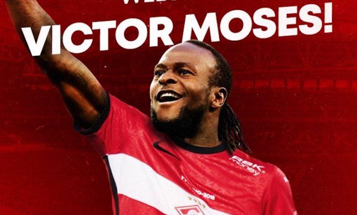 Moses transferohet te Spartaku i Moskës