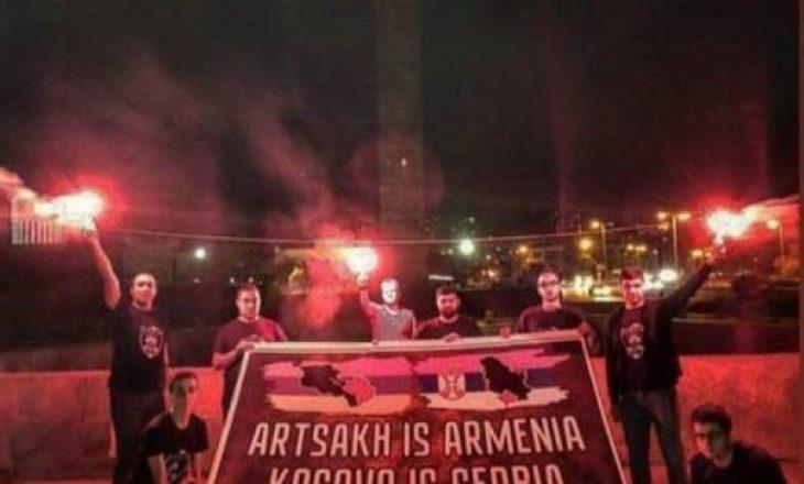"""Kampionët e Armenisë: """"Kosova është Serbi"""""""