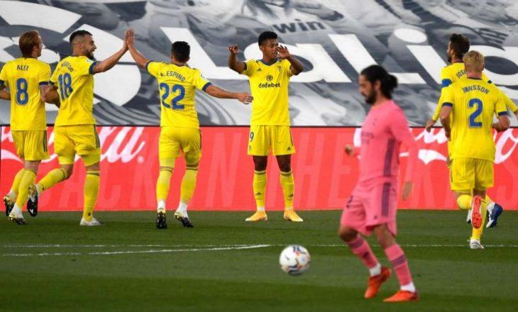Cadiz e mposhtë Real Madridin, ia shkakton humbjen e parë sezonale