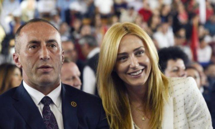 Anita Haradinaj mohon raportimet se bashkëshorti i saj është fizikisht i dhunshëm