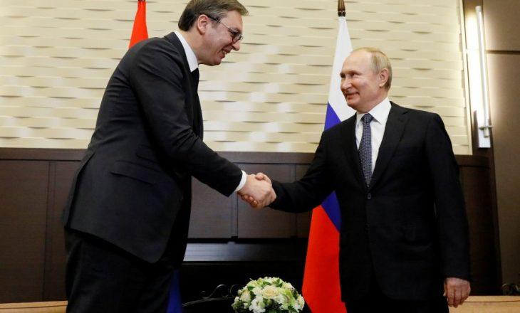 Putin anulon vizitën në Serbi, shkas afërsia e Serbisë me ShBA-të
