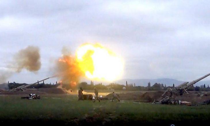 Armenia godet disa fshatra të Fizulit me raketa në Nagorno – Karabakh