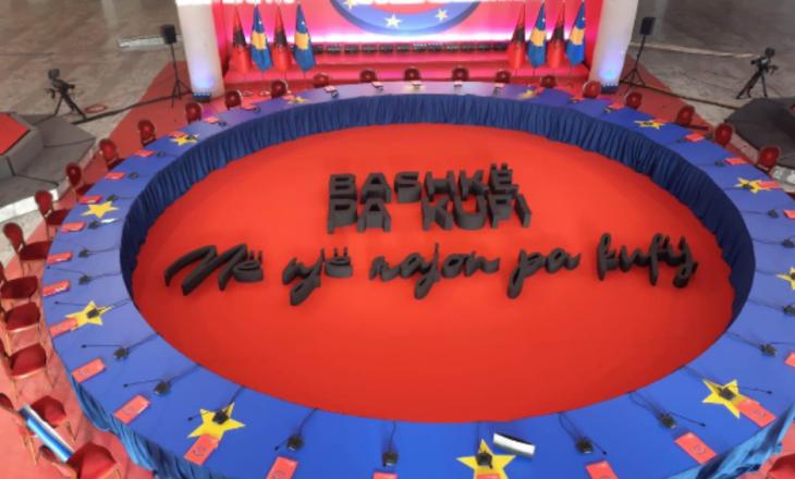 """""""Bashkë pa kufi"""" – Slogani i mbledhjes ndërqeveritare Kosovë-Shqipëri"""