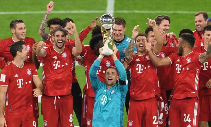 Bayern Munchen ka fituar superkupën e Gjermanisë