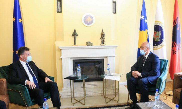 Haradinaj pas takimit me Lajçakun: BE-ja duhet përshpejtojë përpjekje për marrëveshjen finale