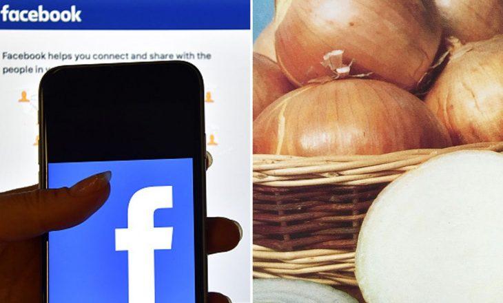 Facebook ngatërron qepët për gjoks femre