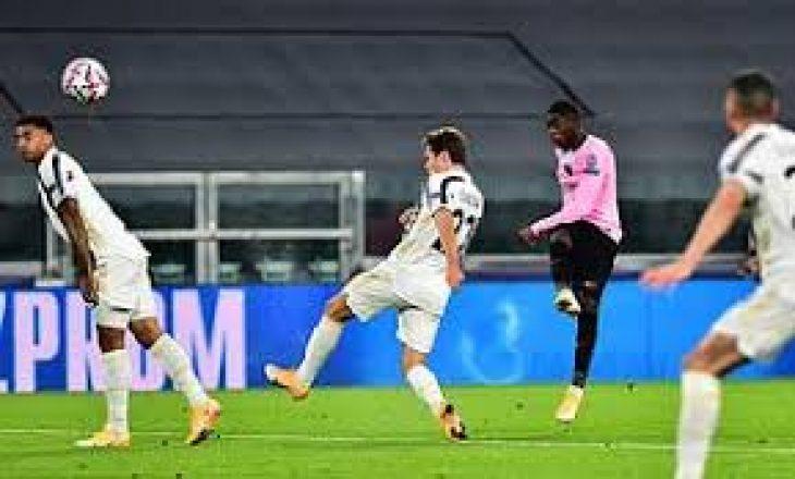 Pas pjesë së parë, Barcelona në avantazh kundër Juventus