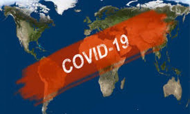 Në mbarë botën, janë infektuar më shumë se 45 milionë persona me Covid-19