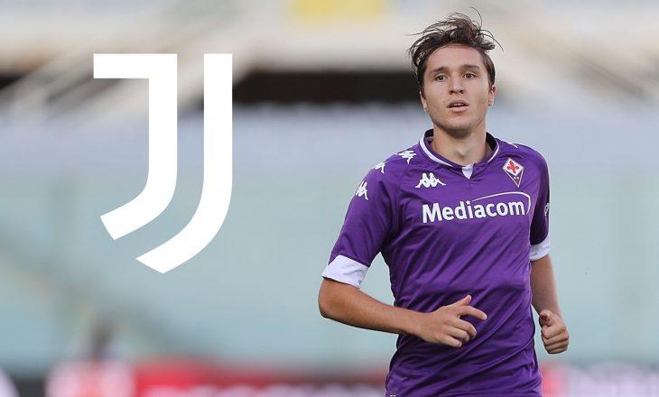 Juventus transferon Chiesa nga Fiorentina, largon dy lojtarë në huazime