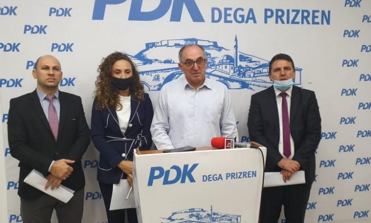 PDK në Prizren me kritika ndaj Qeverisë së Haskukës