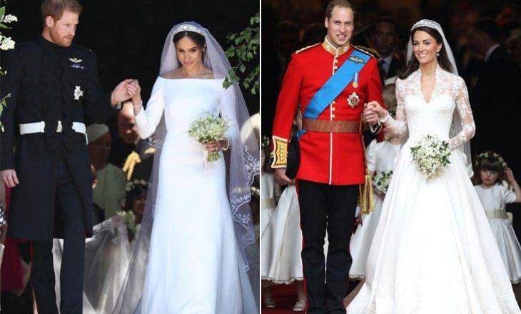 Sërish komentohen fustanet e nusërisë së dukeshave të mbretërisë britanike