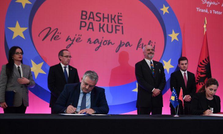 Në takimin mes dy qeverive, nënshkruhet edhe marrëveshje në fushën e sigurisë