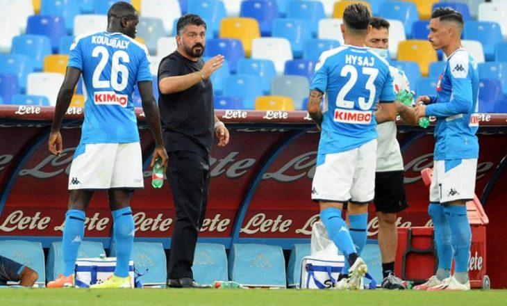 Gattuso nuk dëshiron largimin e Hysajt