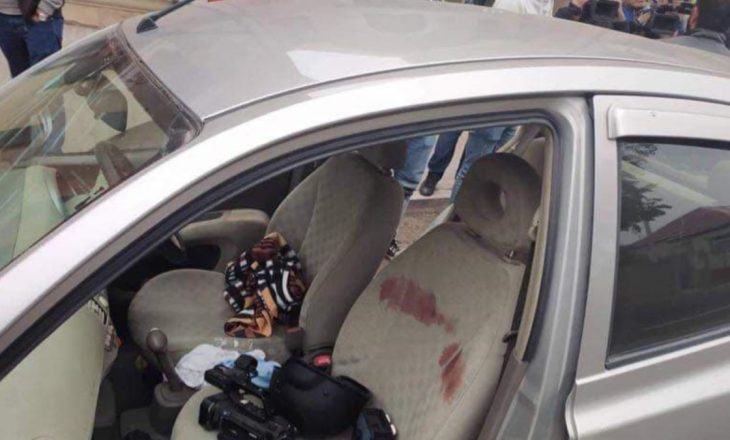 Plagosen dy gazetarë francez në Azerbajxhan