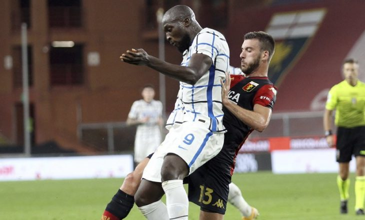 Inter mposht Genoan si mysafir