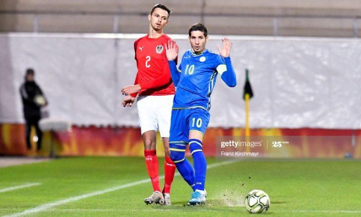 Sonte Shpresat e Kosovës luajnë kundër Austrisë