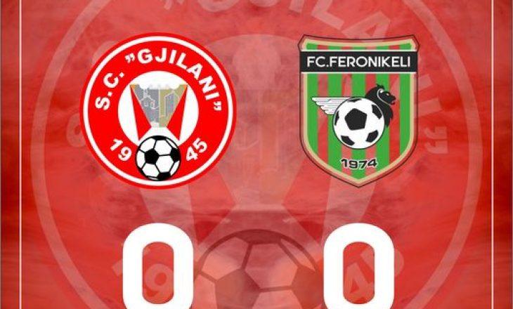 Gjilani dhe Feronikeli ndahen pa gola
