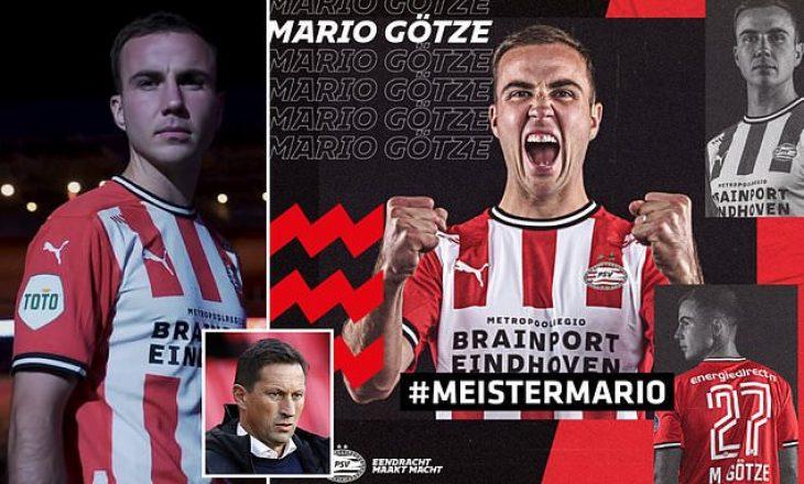 Gotze transferohet te gjigandi holandez PSV