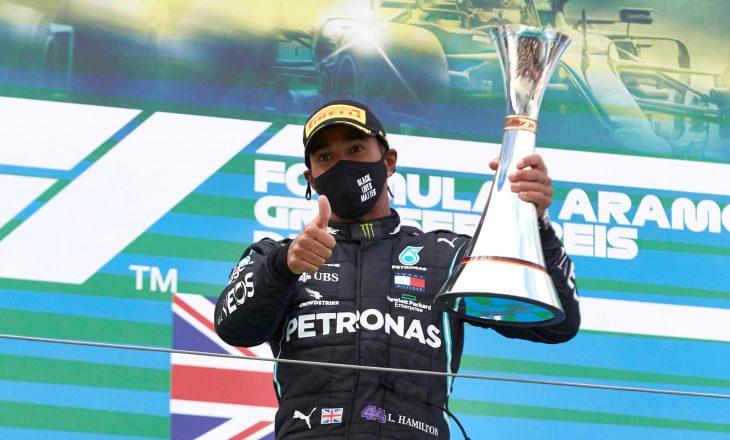 Hamilton fiton në Nurburgring, barazon rekordin e fitoreve të Schumacher