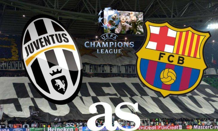 Sonte krye-ndeshja Juventues vs Barcelona